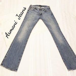 AJ armani Jean's light blue size 27